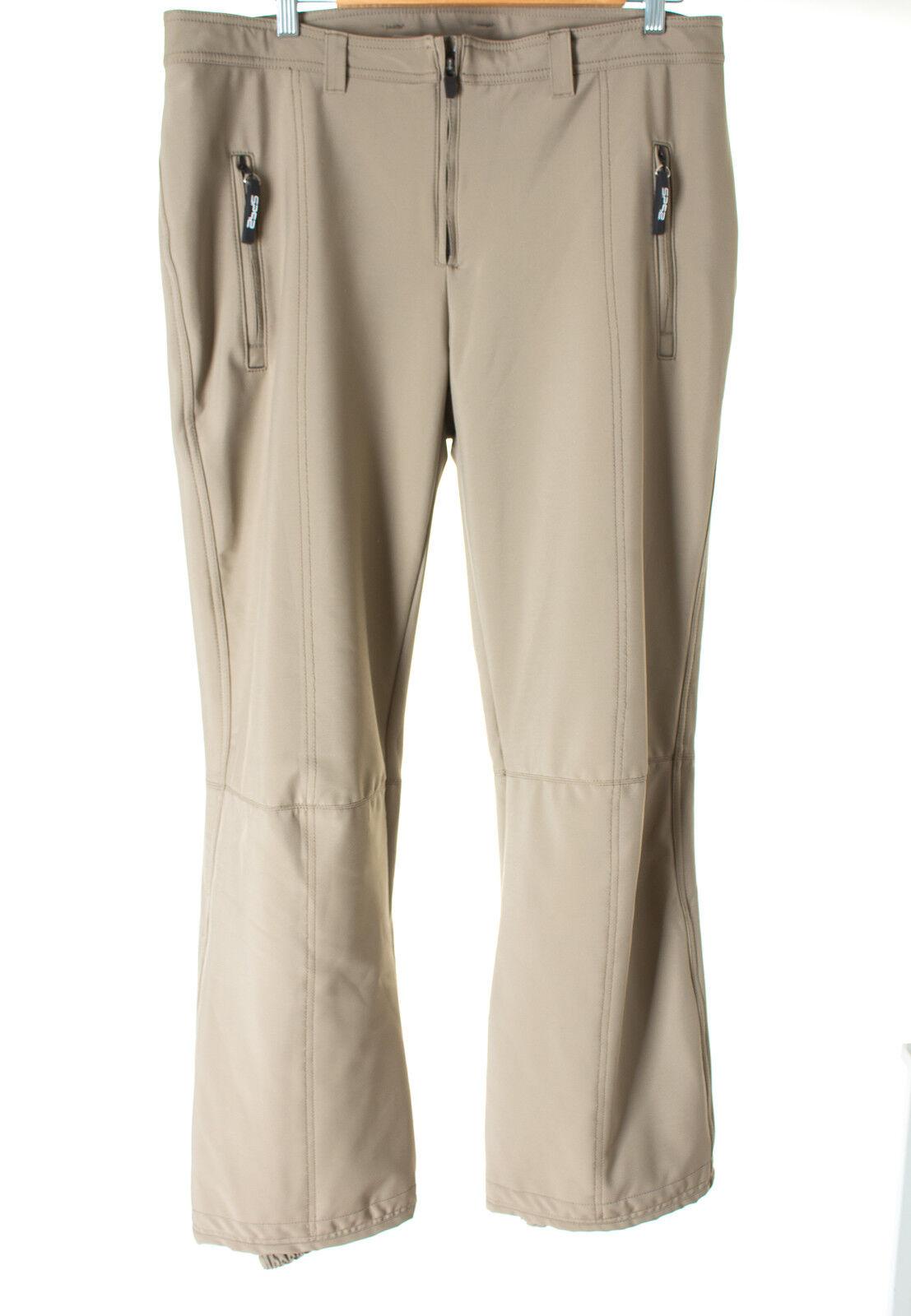 Sportalm Kitzbühel Hose Outdoorhose Trousers Trousers Trousers Pants Damen Gr. DE 46 in Graubraun 0476d5