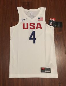 on sale 2d391 2dc5c Details about Stephen Curry USA Basketball Nike Youth Replica Jersey Golden  State Warriors NWT