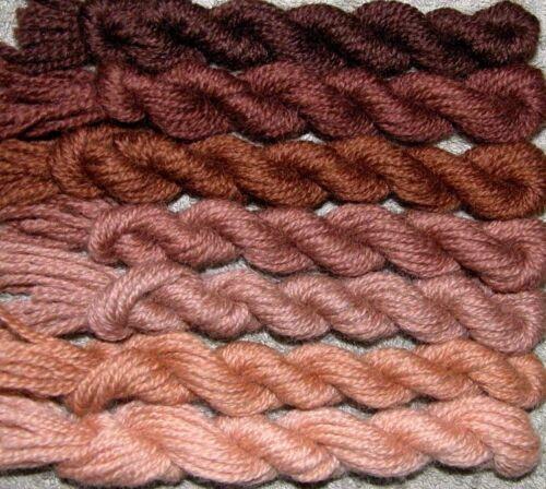 New Paternayan Wool 3ply Persian Yarn Needlepoint Crewel 430 Chocolate Brown