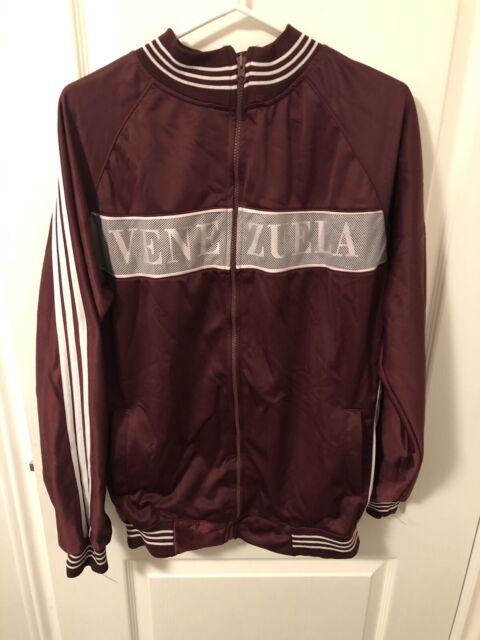 Vintage Authentic Adidas Venezuela Mens Tiero Sweater - Size L (Great Cond)