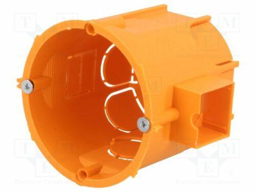 installationsdose ip30 Z 62 mm Ø 60 mm Réservoir profondément a.0006lp électrique Boîtier