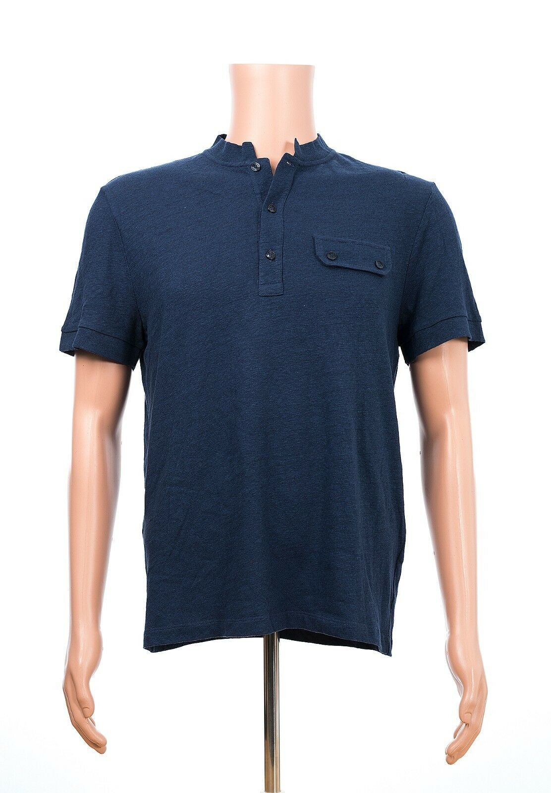 New VERSACE COLLECTION Dark Blau Polo Shirt sz M