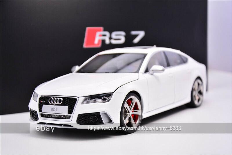 J'S Model 1 18 KengFai RS7 SportBack Audi White