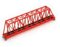 Kato N Sgl Truss Bridge Red 248mm Kat20430