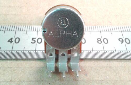"Lin B Pot VR63 Vertical PCB Mount 6.3mm 0.25/"" Round Shaft Linear Potentiometer"