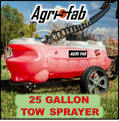 Agri-Fab 25 Gallon Pro Tow Sprayer *MTD *Countax* Honda 45-0293  4008423804430   eBay