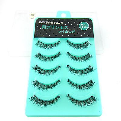 2015 NEW IL-12 5 pairs Japan Short Cross False eyelashes Natural fake eye lashes
