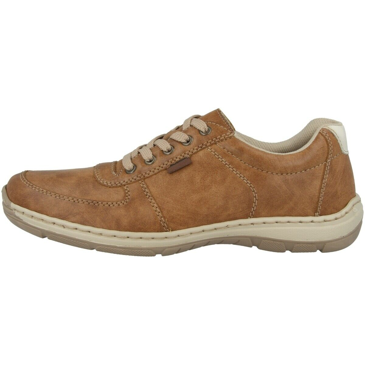Rieker Elmira-Preston Men shoes Men's Low shoes Trainers Peanut Chalk 15224-24