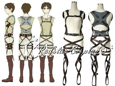 Attack on Titan Shingeki no Kyojin New Belts and harness Cosplay Straps & Skirt