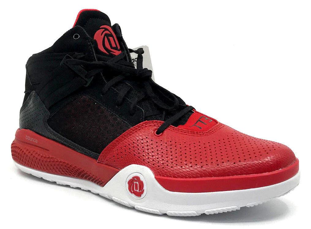adidas d rose rose rose 773 iv base hommes noirs / scarlet s85442 noire baskets taille 13 | Shop  6c072c