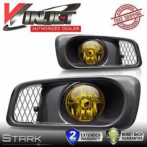 99 00 civic si type r yellow fog lights w wiring kit. Black Bedroom Furniture Sets. Home Design Ideas