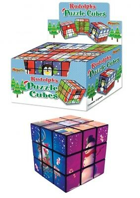 Rubiks Cube Cute Puzzle Erasers Novelty