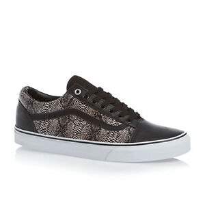 0dc51da2ab VANS OLD SKOOL SNAKE BLACK KHAKI MENS SIZE SZ 7 NEW NIB ERA ...