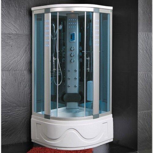 Cabina Idromassaggio 105x105 Box doccia ozonoterapia Vasca Sauna Bagno Turco  1