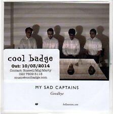 (EO402) My Sad Captains, Goodbye - 2014 DJ CD