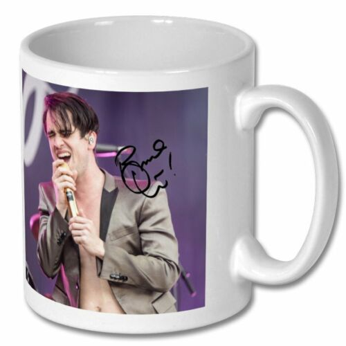 Brendon Urie Panic at the Disco 3 Personalised Gift Signed Large Mug Coffee Tea