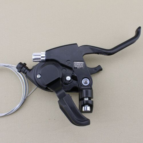 1 Pair Super ST-EF51 3x7S Shifter MTB Bike Bicycle Shift//Brake Lever Set Black