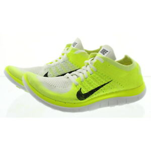 5b8c6f72b54 Details about Nike 631050 Womens Free 4.0 Flyknit Low Top Running Athletic  Shoes Sneakers