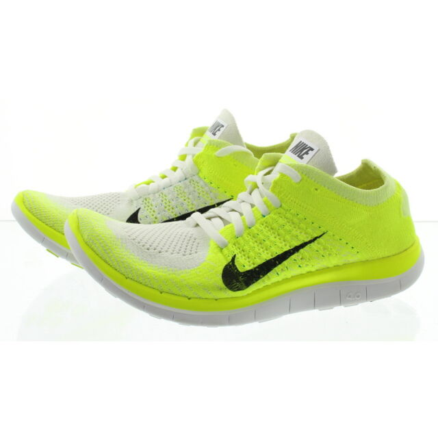 brand new eb665 bd9a4 Nike 631050 Womens Free 4.0 Flyknit Low Top Running Athletic Shoes Sneakers