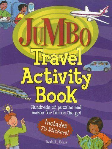 Jumbo Travel Activity Book: Hundreds of Puzzles an