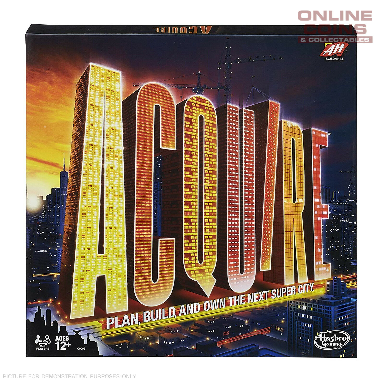 Acquire 2nd Edition by Avalon Hill Games by Hasbro
