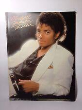 1983 Michael Jackson Thriller Piano Guitar book VF1031 USA Warner Bros
