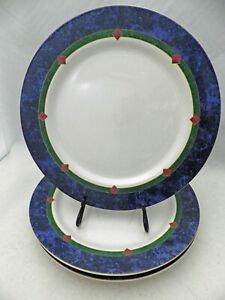 Pfaltzgraff-Amalfi-Classic-pattern-3-Dinner-plates-10-5-8-034-Retired-2005