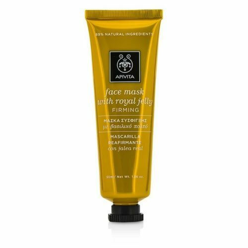 APIVITA FACE MASK FOR FIRMING WITH ROYAL JELLY 89% NATURAL INGREDIENTS 50 ML