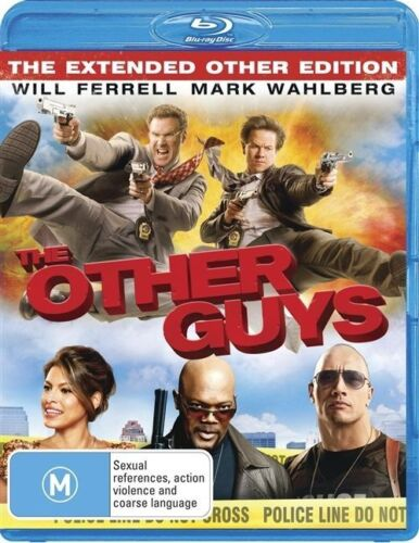 1 of 1 -  THE OTHER GUYS..BLU RAY..MARK WAHLBERG..WILL FERRELL...NEW & SEALED  dvd322