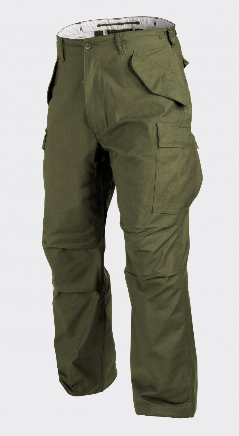 Helikon TEX US m65 Pantaloni Army Pantaloni campo REFORGER Field Pants OD verde SMALL LONG