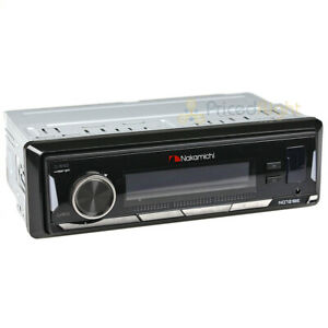 Nakamichi Car Single DIN Mechless Receiver with Bluetooth Car Audio NM-NQ721BE