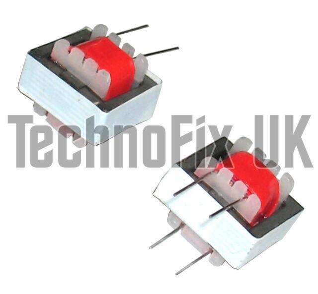 Qty 2, 600 ohm 1:1 audio isolation transformers for datamodes: PSK31 RTTY SSTV