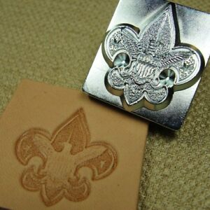 Leather-Stamping-Tool-3D-Boy-Scouts-of-America-Eagle-Logo-Stamp