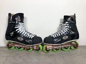 Mission-Proto-SV-5-3-Violator-Hi-Lo-80-72-Roller-Inline-Hockey-Skates-Size-12D