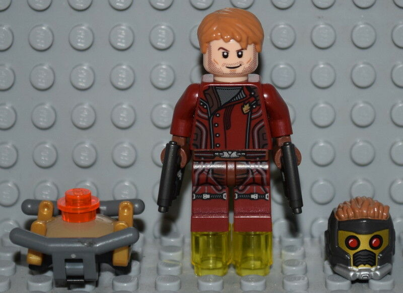 LEGO MARVEL SUPER HEROES Minifigure STARLORD From Set 76021