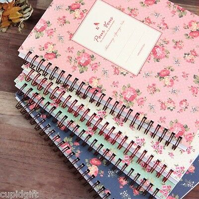 Pour Vous Blooming Spring Notebook School College Note Study Journal Scrapbook