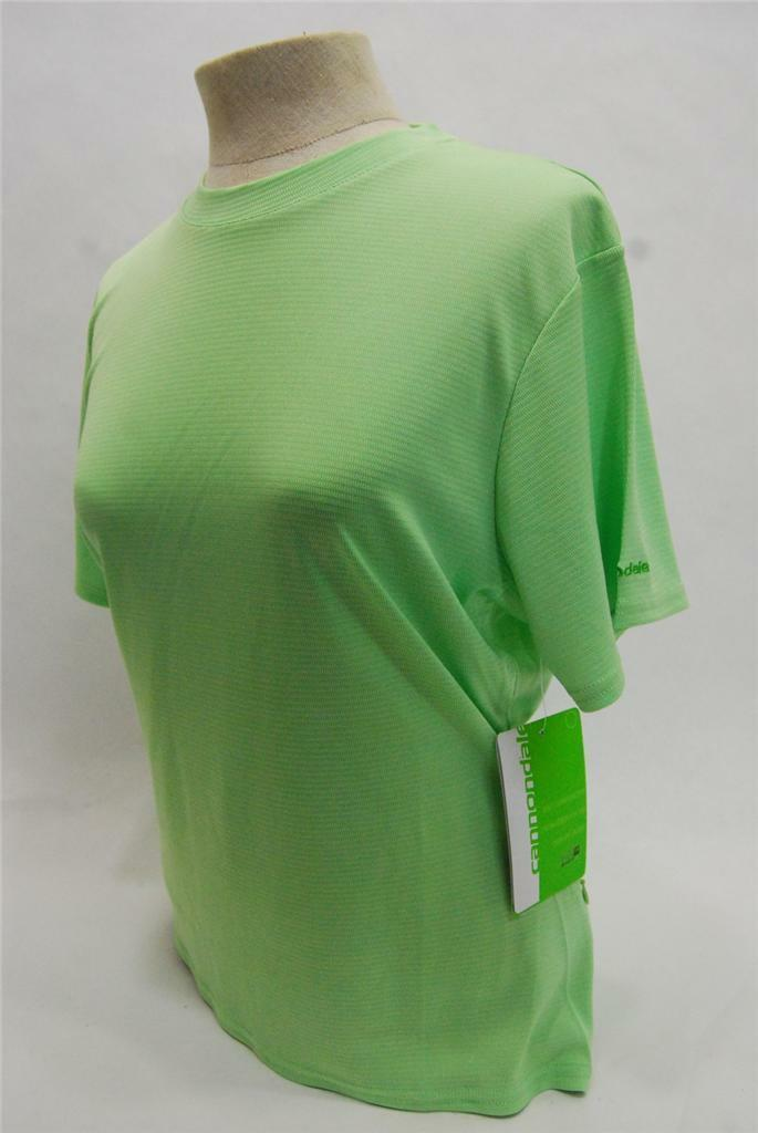 Cannondale Womens Trail Jersey - Medium  - Green - 3F150M GRN - NEW  various sizes