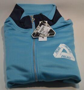 52182639e837 New Palace Skateboards P-KNIT TRI FERG FUNNEL JACKET Blue Navy ...