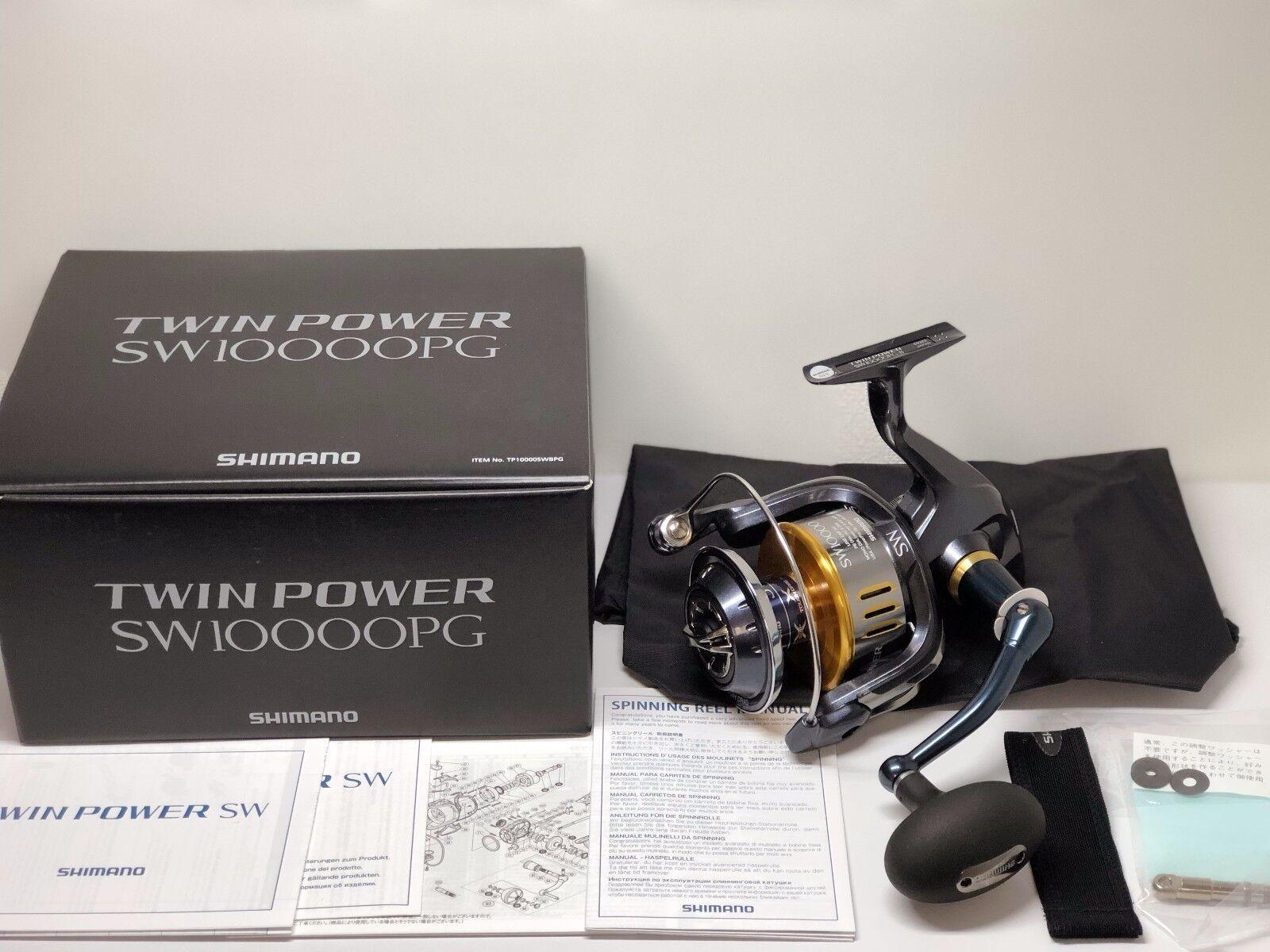 Shimano 15 TwinPower solo Weave 10000PG-Envío gratuito desde Japón