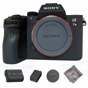 Sony Alpha a7 III Mirrorless Digital Camera (Body Only) ILCE7M3/B USA Model