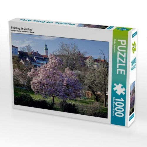 4059478818750 Frühling in Dachau 1000 Teile Puzzle quer