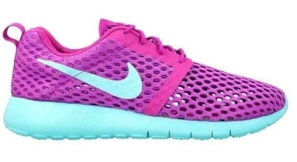 be381d1d8199 Nike Roshe One Flight Weight 705486 502 6Y Hyper Violet Hyper Turquoise