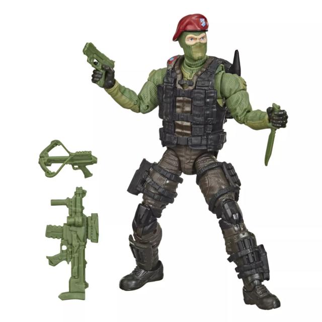 G.I. Joe Classified Series Cobra Island Wayne Beach Head Sneeden Target Ecxl