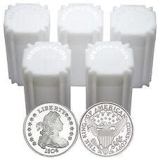 SilverTowne 1804 $1 Struck in 1oz .999 Fine Silver Medallion- LOT OF 100