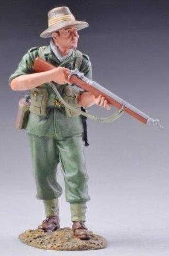 Thomas Gunn WW2 Pazifik rs014a Aussie Soldat mit Gewehr MIB