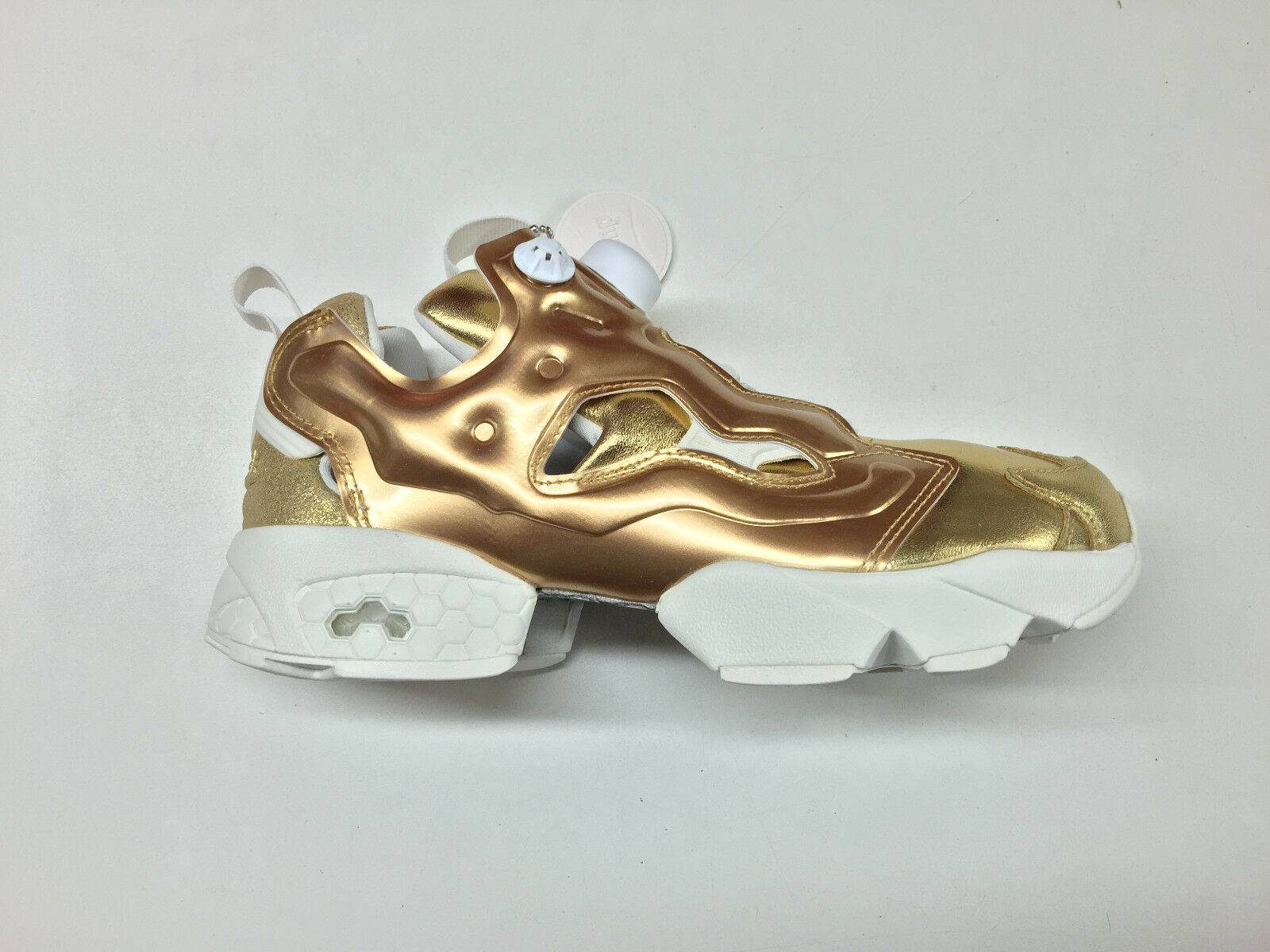 Reebok femmes InstaPump Fury Celebrate Pot O' Gold Brass Trainers V70094 1702-74