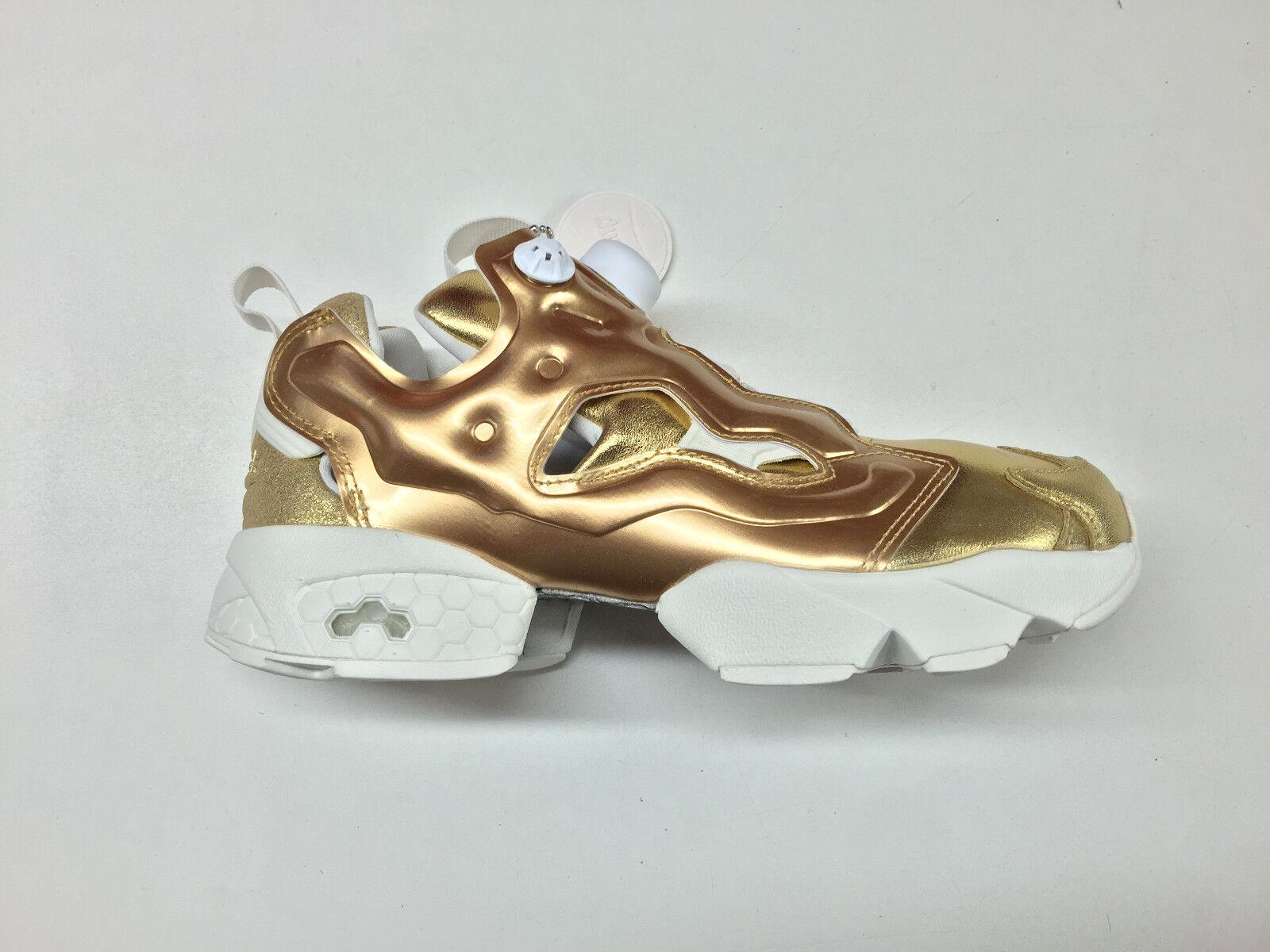 Reebok femmes InstaPump Fury Celebrate Pot O' Gold Brass Trainers V70094 1702-74