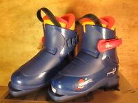 Salomon Perf T1 Kids Boots Size 17.0 Mondo Or 10.5 Toddler Blue Color( Nib)