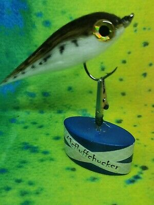 """5//6 inch hothead fry made in scotland by /""""mcfluffchucker PIKE //BASS FLY"""