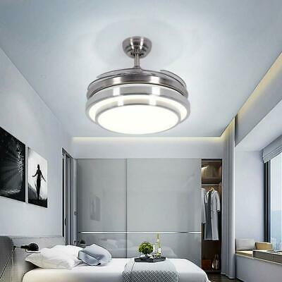 Lighting Groups Invisible Ceiling Fans With Lights 42 Modern Led Ceiling Fan Ebay